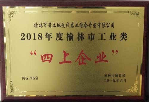 """2018年度福彩快三平台工业类""""四上企业"""""""